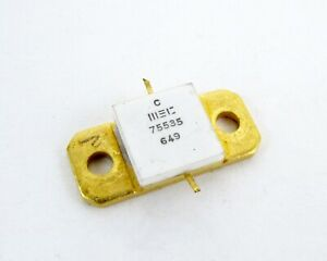 15.5 dB Noise Source New Microwave Semiconductor MC1040P 10 MHz to 4 GHz MSC