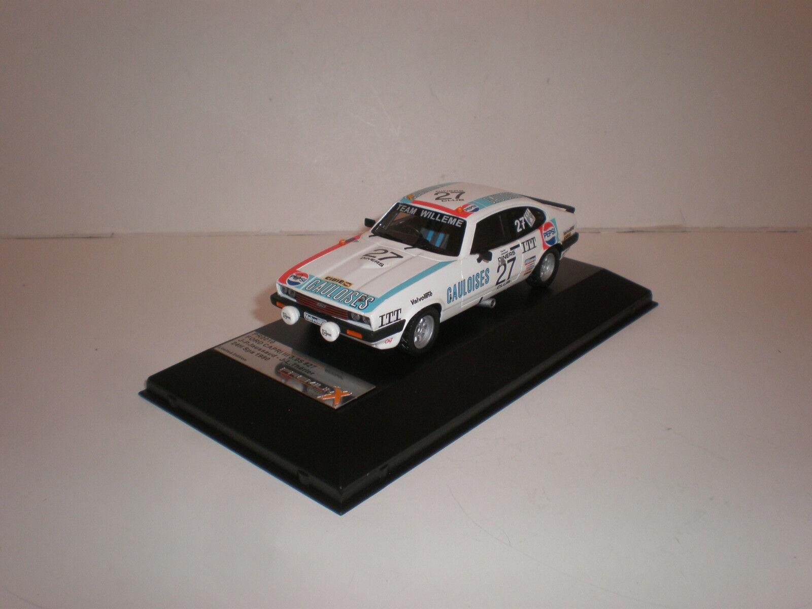 1  43 PREMIUM X Ford Capri III, '80 24 Hr Spa 1980