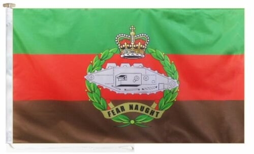 British Army Royal Tank Regiment Roped & Toggled 2 Yard Courtesy Boat Flag