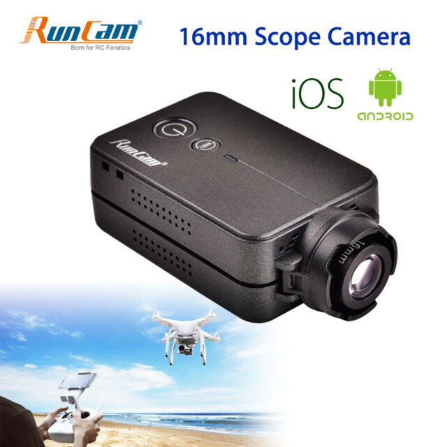 HD 1080P WiFi FPV Camera Scope Camcorder Recorder 16mm 180° Remote For Airsoft
