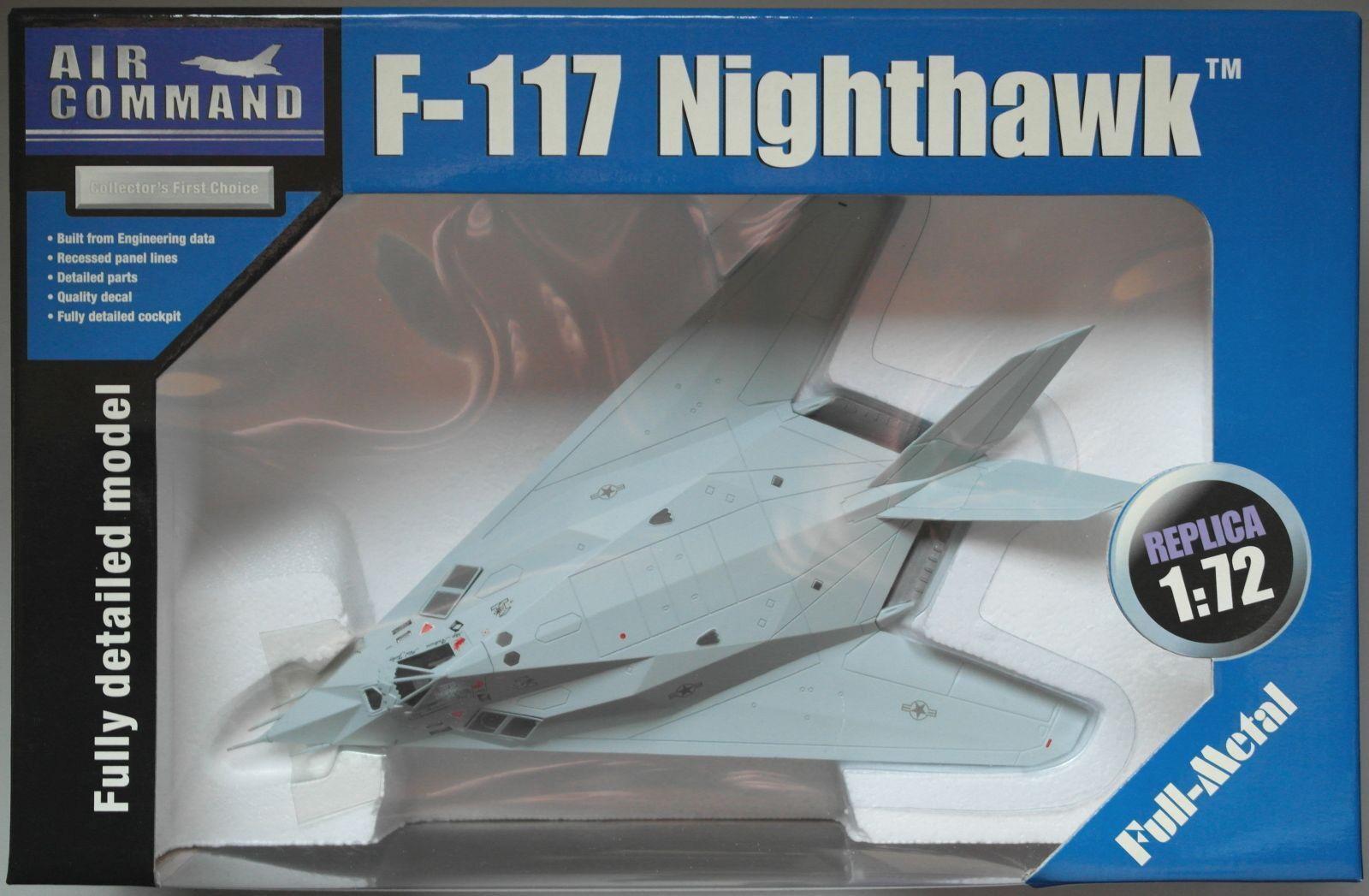 SUN STAR AIR COMMAND f-117 Nighthawk US Air Force Scorpion Scorpion Scorpion 1 1 72 Nouveau Neuf dans sa boîte Bâche 3ae0f9