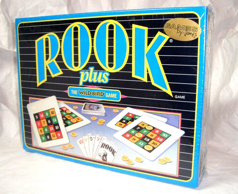 SEALED Wild Rook Plus - The Wild SEALED Bird Game w Wild Bird Score Cards NEW Factory SEALED fc5448