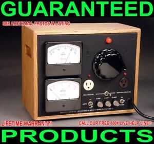 CUSTOM-DUAL-METERED-ISOLATED-VARIAC-TUBE-TRANSISTOR-AUDIO-POWER-AMPLIFIER-2800W
