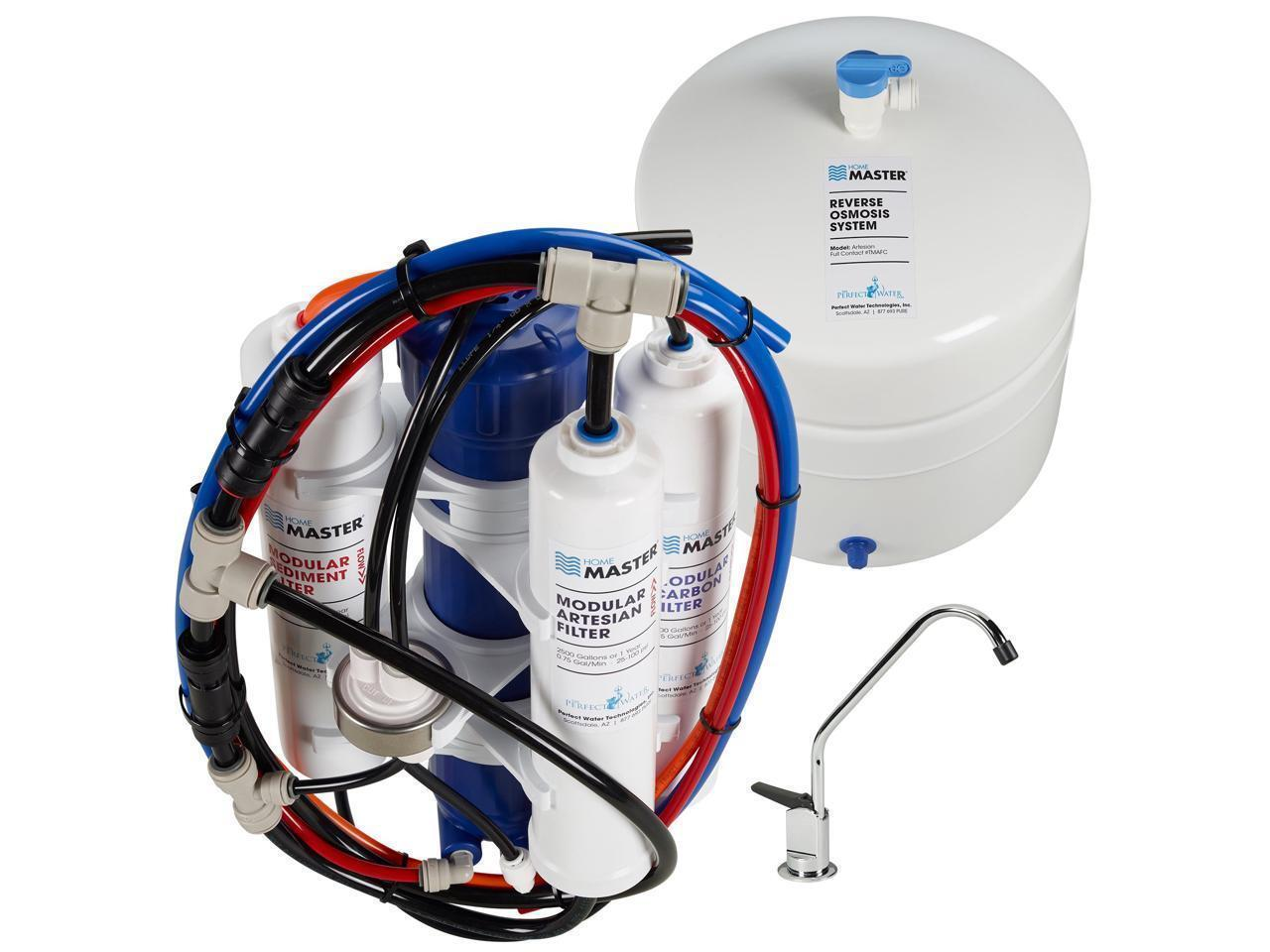 Home Master Artesian Full Contact Reverse Osmosis Water Filtration System