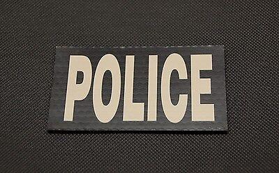 Infrared Blackout IR US Flag Patch Set SWAT Tactical Police Gang Enforcement