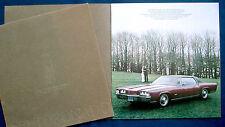 Prospekt brochure 1971 Oldsmobile Toronado (USA) PRESTIGE