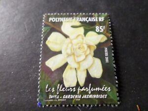 Polynesien-2001-Briefmarke-654-Blumen-Taina-Los-A-Entwertet-VF-Briefmarke
