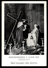 """santino-holy card""""S.VERONICA-RAGUSA IBLA"""