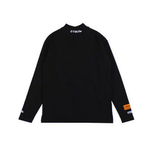 Heron-Preston-Shirt-Long-Sleeve-T-shirt-Unisex-Tops-Casual-Wear-Fashion-Cotton
