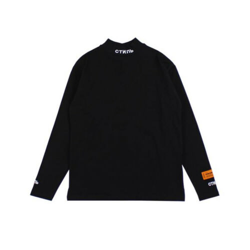 Heron Preston Shirt Long Sleeve T-shirt Unisex Tops Casual Wear Fashion Cotton