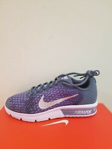 Details about Nike Youth Air Max Sequent 2 Running Shoes (GS) Size 7 NIB