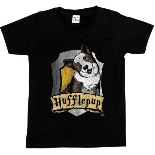 1Tee Kids Girls Hufflepup Hogwarts T-Shirt