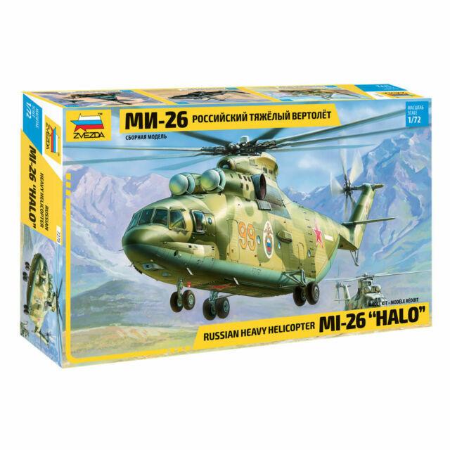 Mil-8t HIP-C Soviet Helicopter 1:72 Plastic Model Kit ZVEZDA