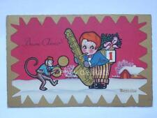 BERNINI BUON ANNO art decò vecchia cartolina old post card AK postcard CPA
