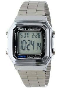 Casio-Vintage-Watch-A178WA-1A-Illuminator-Silver-Steel-Classic-COD-PayPal