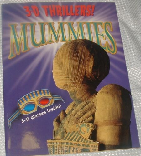 1 of 1 - 3-D Thrillers Mummies Including 3-D Glasses