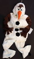 Disney Store Size Xs 4 4t Frozen Plush Olaf Snowman One-piece Costume