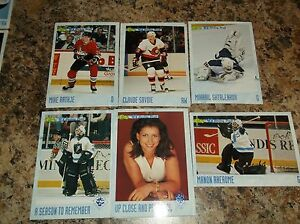 1993-94-CLASSIC-HOCKEY-DRAFT-150-MANON-RHEAUME-Hockey-Card
