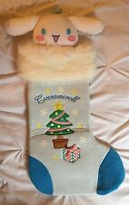 Cinnamoroll Sanrio Christmas Stocking JUMBO Plush Kawaii Winter SUPER RARE
