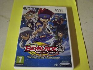 WII-BEYBLADE-METAL-FUSION-counter-leone-complet