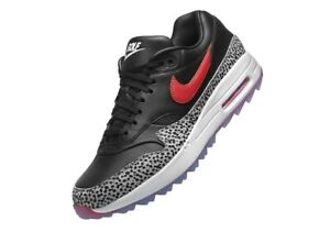 Details about Nike Air Max 1 G NRG AM1 Safari Bred Pack Golf Shoe PGA BQ4804 002 Major release