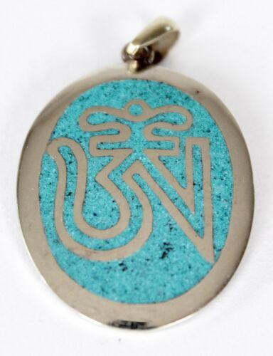 OM Rimorchio/scorrazza nodi rimorchio a mano Nepal pendant meditazione