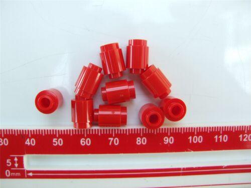 10 x Lego Red Round brick 1x1-306221 Parts /& Pieces