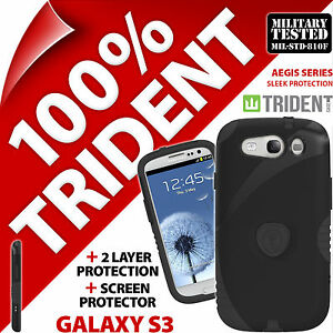 2-X-TRIDENT-egide-Protection-resistant-COQUE-ROBUSTE-POUR-SAMSUNG-GALAXY-S3