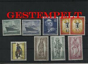Germany-Berlin-vintage-yearset-1955-Postmarked-Used-complete-More-Sh-Shop