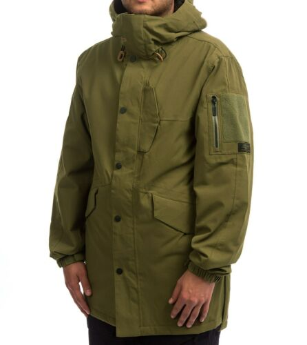 NWT THIRTYTWO Men/'s snow LODGER Snow 2019 SNOWJACKET  Olive Size Large
