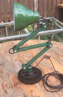 Vintage Steampunk Machinists Industrial Lamp
