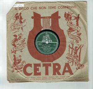 78T-25cm-MARISA-DEL-FRATE-Armando-FRAGNA-Disk-Phono-BENE-MIO-CETRA-6771-RARE
