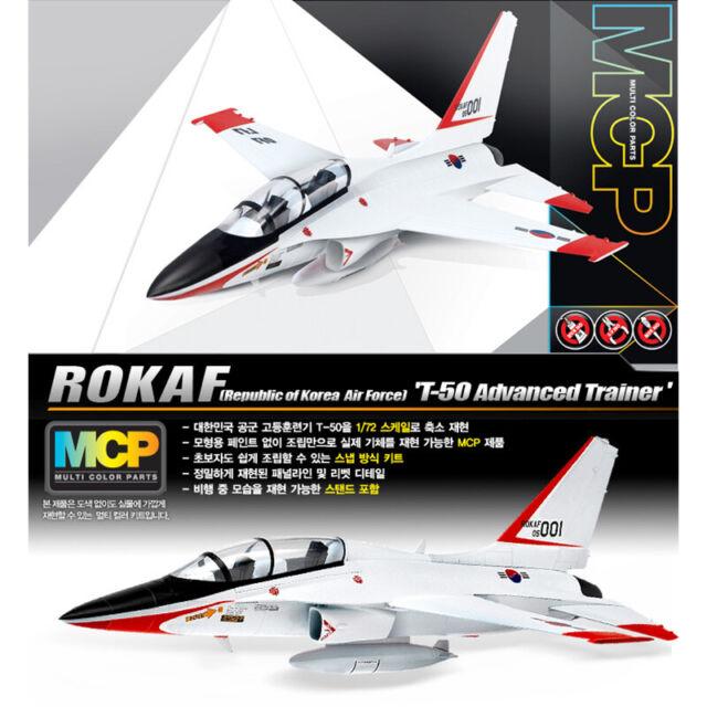 Model kit ACA12519-academy 1:72 rokaf T-50 advanced trainer mcp