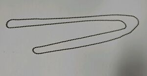 "72/"" Loop #10 NICKEL Plate METAL BEAD CHAIN for CLUTCH ROLLER WINDOW SHADES"