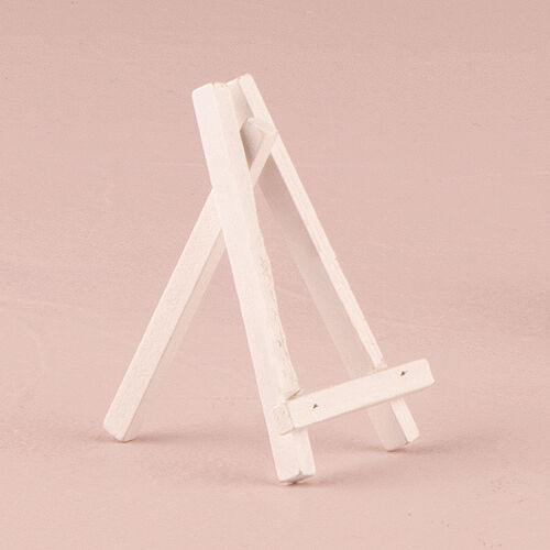 70 Small White Easels Wedding Party Decorations Lot Q17971