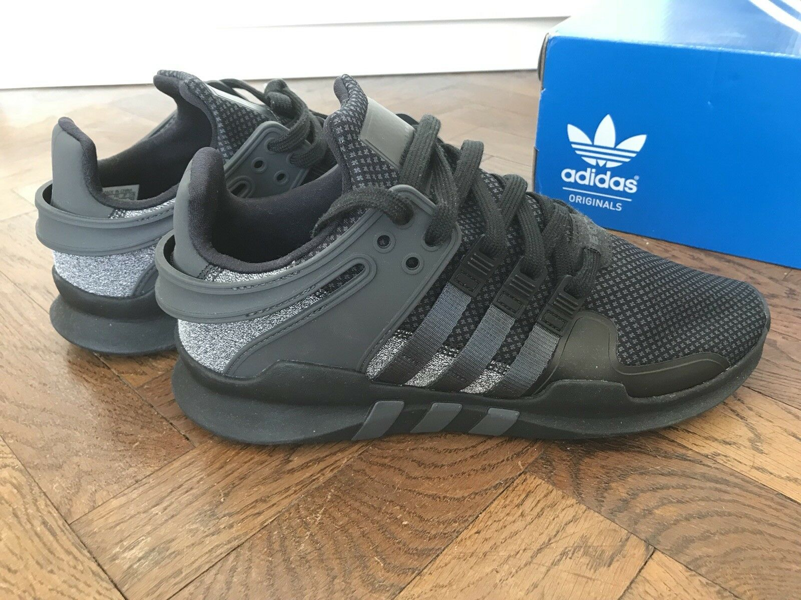 Adidas Originals, Damen Schuhe, Schuhe, Schuhe, Turnschuhe, Equipment Support ADV, CBLK, Gr.7   40  0e2723