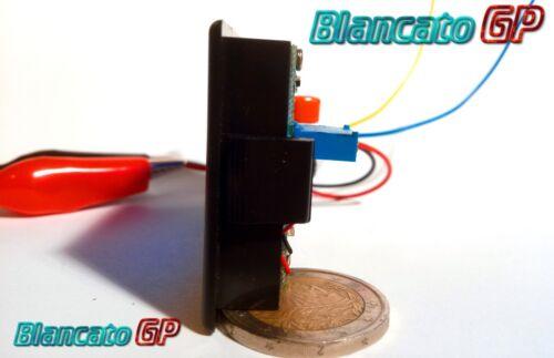OHMMETRO DIGITALE DA PANNELLO LCD CON LED BLU 200KOhm DC Ohmetro ohmmeter panel