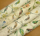 Prestigious Textiles BIRDSONG Cotton Curtain Upholstery Roman Blind Bird Fabric