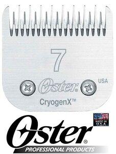 Oster Cryogen-x #7 Skip Lame Convient À A5/a6, La Plupart Des Andis , Wahl Coupe