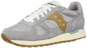 SAUCONY-SHADOW-ORIGINAL-VINTAGE-Sneakers-GREY-BROWN-New