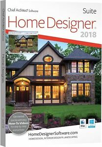 Charming Home Designer Suite Chief Architect Software 2018   DVD