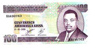 Burundi-100-franchi-2006-FDS-UNC-pick-37-e-lotto-3583