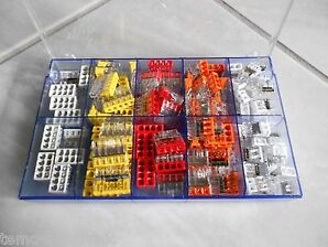 150 Wagoklemmen Set in Box 0,5-2,5, 2273-202 -203 -204 -205 -208