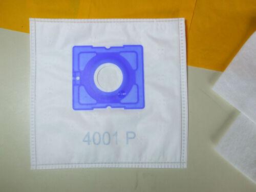 20-80 Staubsaugerbeutel geeignet für Grundig  VCC 3650, 4001P,2te