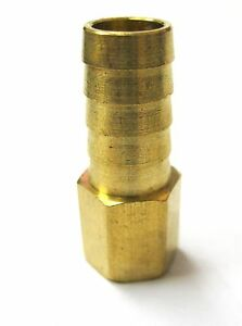 1pc-Brass-Fitting-1-2-034-Hose-Barb-x-1-4-034-Female-NPT-Fuel-Air-Gas-MettleAir-126-8B