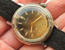 Vintage soviet VOSTOK watch 17 Jewels, Gilt case Nice Dial *SERVICED* VGC '1980s