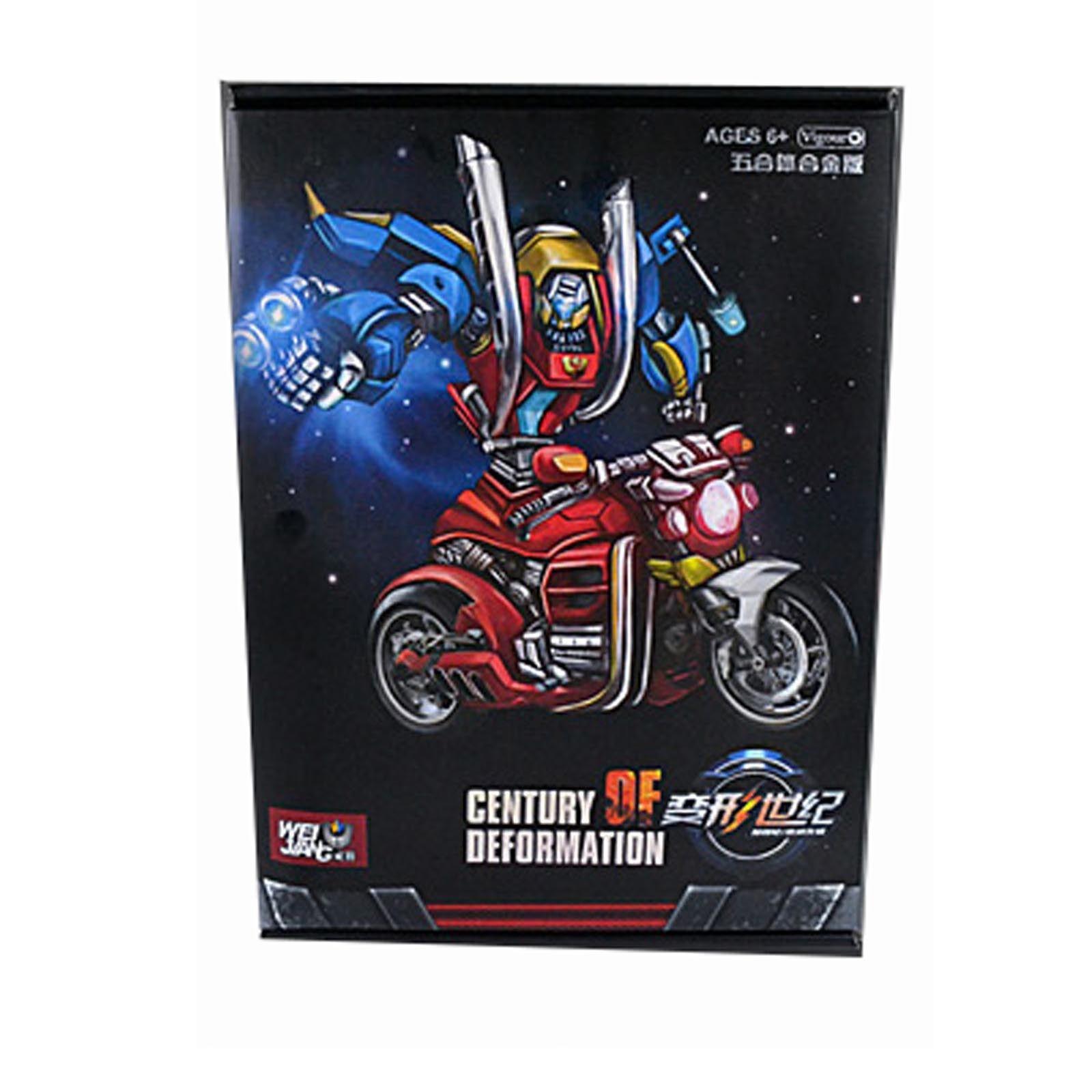 Transformers WJ WEIJIANG Century of deformation Motorbike Action Figure Cars New