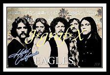 EAGLES inc Joe Walsh - HOTEL CALIFORNIA - PORTRAIT POSTER - REALLY COOL ARTWORK!