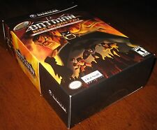 Batman: Rise of Sin Tzu (Game Cube) ..New!! ~ Lithograph Commemorative Edition ~