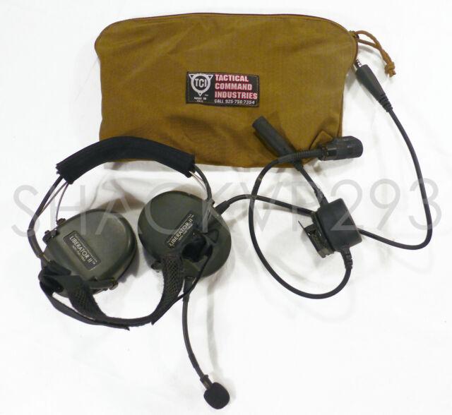 TEA INVISIO V60 Headset & PTT Cable Kit V60 X5 Bone ...